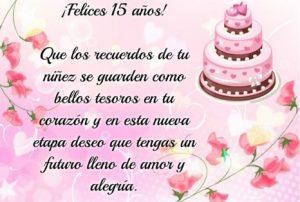 Felices 15 Años Princesa