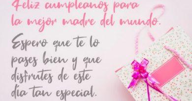 Feliz Cumpleaños Adorada Mamá
