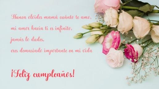 Feliz Cumpleaños Amada Madre