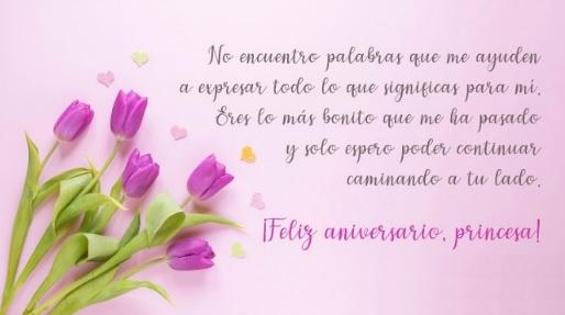Feliz Aniversario Princesa