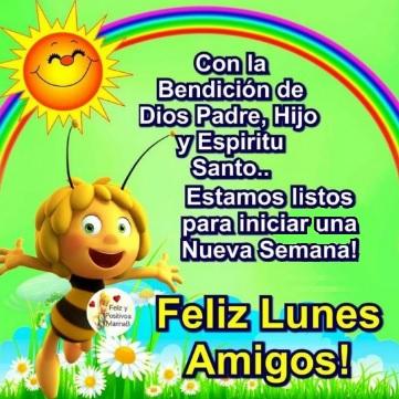 Feliz Lunes con la bendición