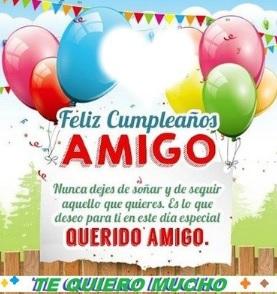 feliz cumpleaños amigo apreciado