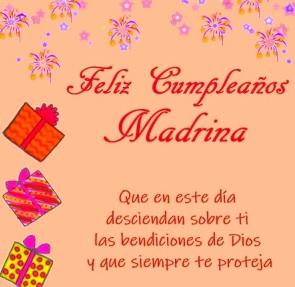 feliz cumpleaños madrina querida