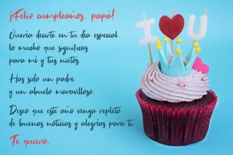 feliz cumpleaños papá optimista