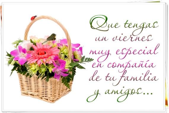 Feliz viernes para mi linda familia y amigos