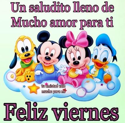 Feliz viernes queridos amigos