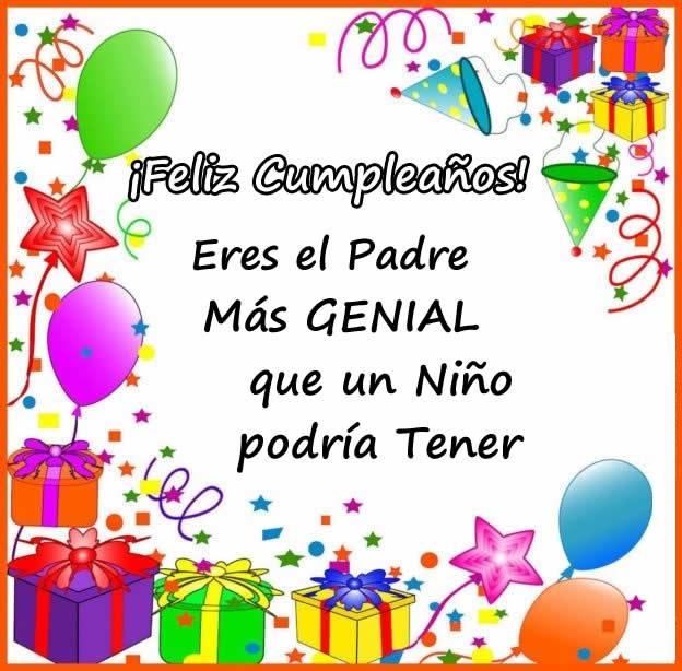 feliz cumpleaños papito maravilloso