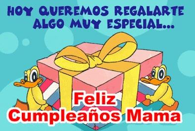 Feliz cumpleaños mami alegre