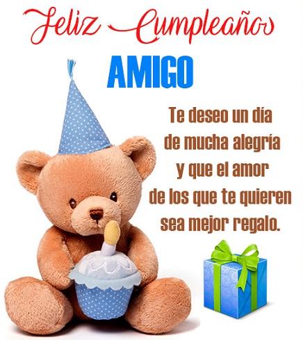 feliz cumpleaños amigo del alma
