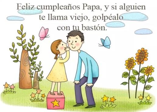 Feliz Día de Cumpleaños Papá Alegre