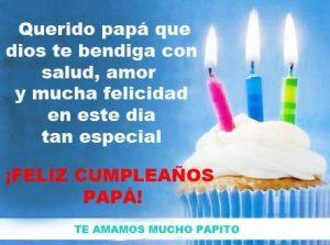Feliz Día de Cumpleaños Papá Generoso