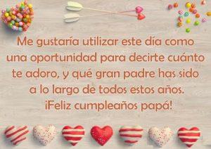 Feliz Día de Cumpleaños Papá Maravilloso