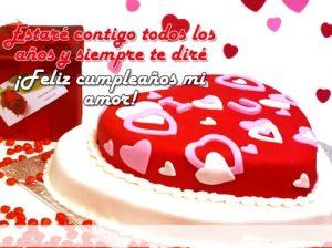 Feliz Día de Cumpleaños Amor Hermoso