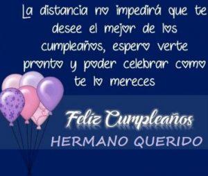 Feliz Día de Cumpleaños Hermano Alegre