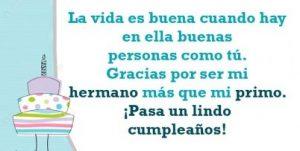 Feliz Día de Cumpleaños Primo Alegre