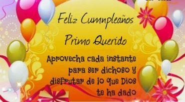 Feliz Día de Cumpleaños Primo Querido