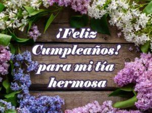 Feliz Día de Cumpleaños Tía Bella