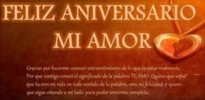 Feliz Aniversario Corazoncito