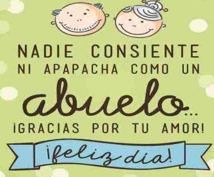 Feliz Día de Cumpleaños Abuelito Consentidor