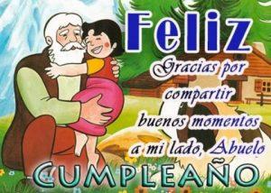 Feliz Día de Cumpleaños Abuelito Hermoso