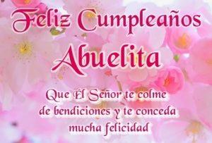 Feliz Cumpleaños Abuelita Bendita