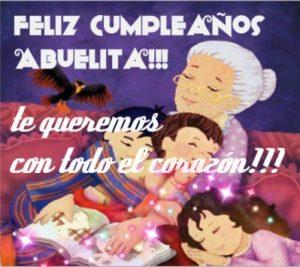 Feliz Cumpleaños Abuelita Bondadosa