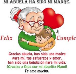 Feliz Cumpleaños Abuelita Linda
