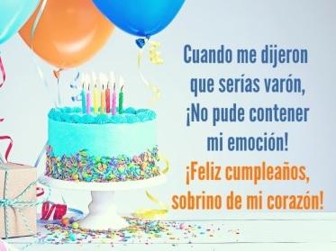 Feliz Cumpleaños Querido Sobrino