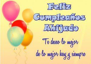 Feliz Cumpleaños Ahijado Apreciado