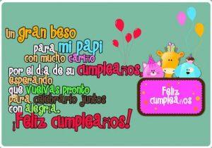 Feliz Cumpleaños Papito Hermoso
