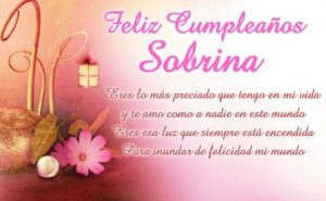 Feliz Cumpleaños Sobrina Apreciada