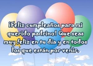 Feliz Cumpleaños Padrino Optimista