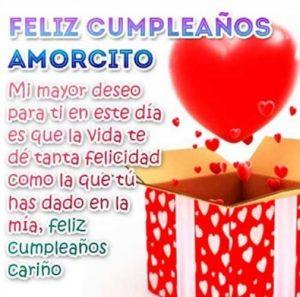 Feliz Cumpleaños Amorcito