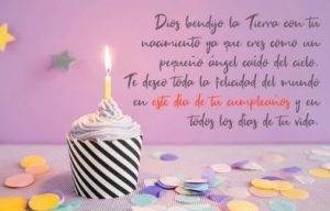 Feliz Cumpleaños Ángel Mío