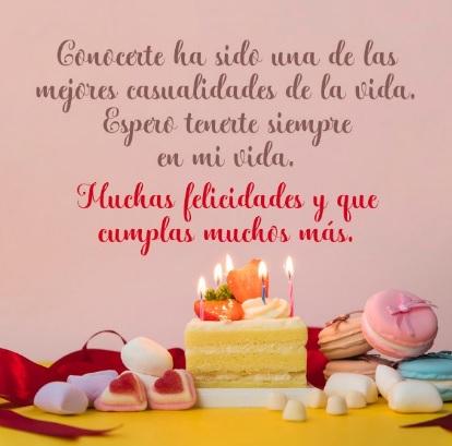 Feliz cumpleanos los deseos de mi corazon
