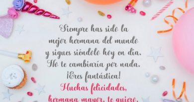 Feliz Cumpleaños Hermana Bondadosa