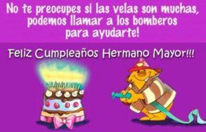 Feliz Cumpleaños Adorado Hermano