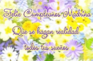 feliz cumpleaños amada madrina