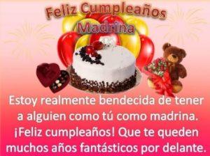 feliz cumpleaños apreciada madrina