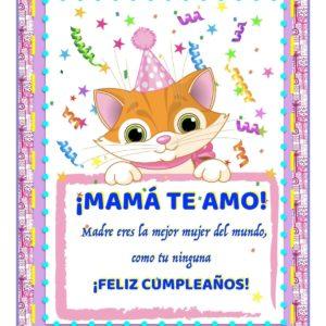 feliz cumpleaños madre amada