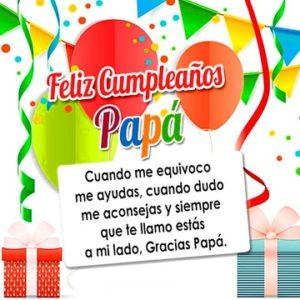 feliz cumpleaños papito amado