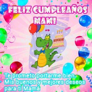 Feliz cumpleaños mami generosa