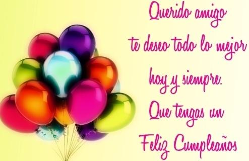 Bellas Felicitaciones de Cumpleaños de Cumpleaños para un Amigo | Feliz Día D